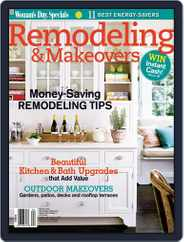 Remodeling & Makeovers Magazine (Digital) Subscription April 1st, 2009 Issue