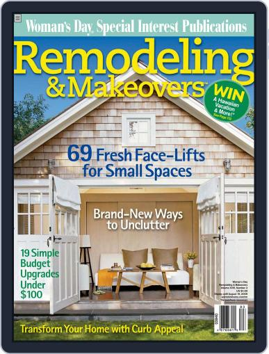 Remodeling & Makeovers Magazine (Digital) May 22nd, 2008 Issue Cover