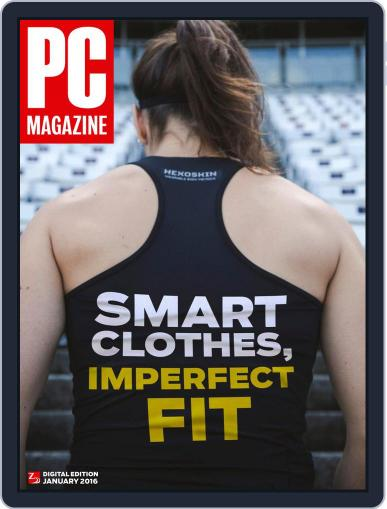 Pc (Digital) December 31st, 2015 Issue Cover