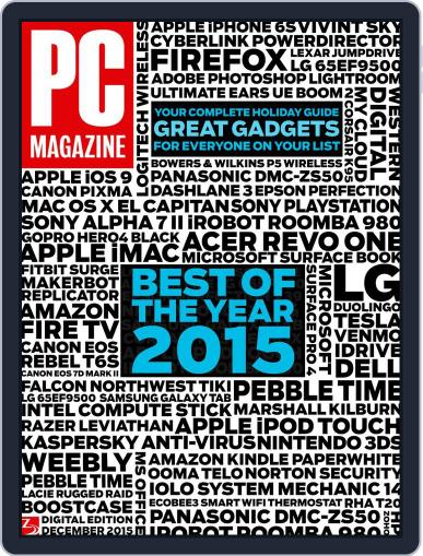 Pc (Digital) November 27th, 2015 Issue Cover