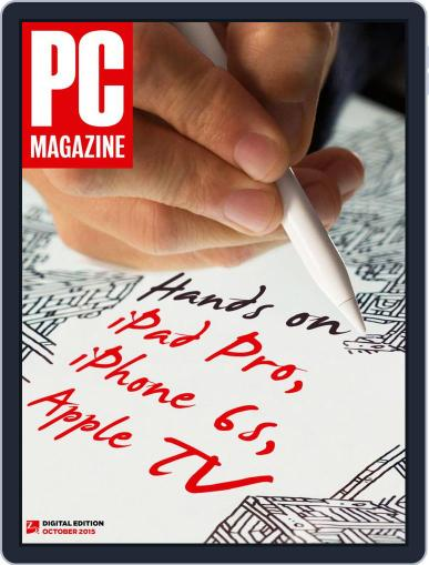 Pc (Digital) September 25th, 2015 Issue Cover