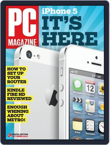 Pc (Digital) September 21st, 2012 Issue Cover