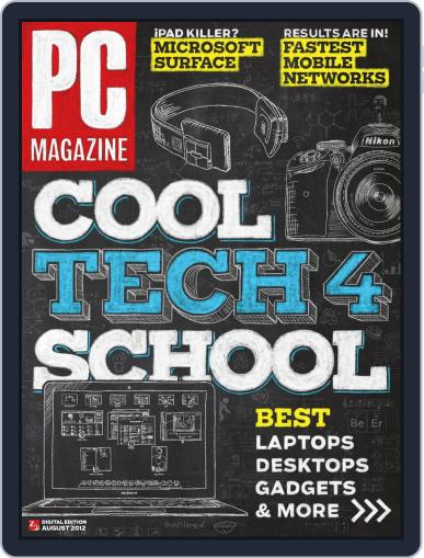 Pc (Digital) July 19th, 2012 Issue Cover