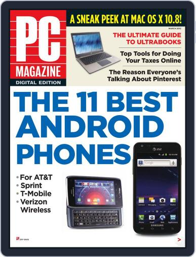 Pc (Digital) February 28th, 2012 Issue Cover