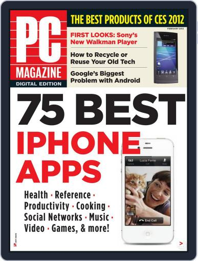 Pc January 30th, 2012 Digital Back Issue Cover