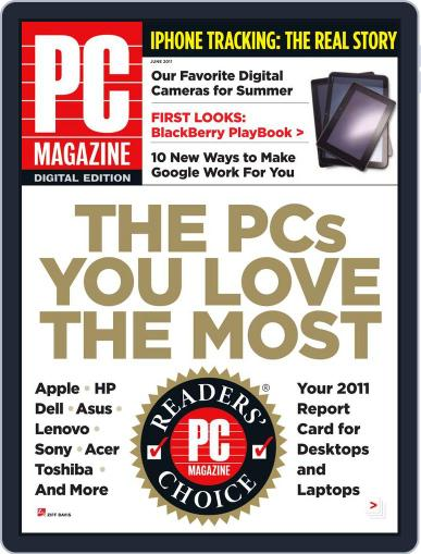 Pc (Digital) May 23rd, 2011 Issue Cover