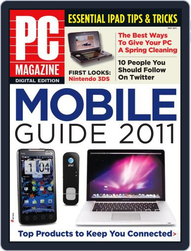 Pc (Digital) April 25th, 2011 Issue Cover