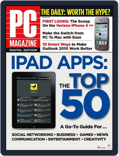 Pc (Digital) February 22nd, 2011 Issue Cover