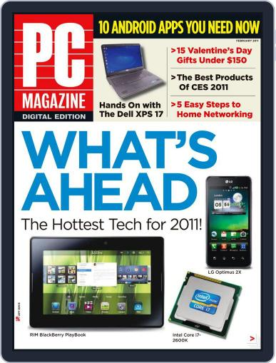 Pc (Digital) January 31st, 2011 Issue Cover
