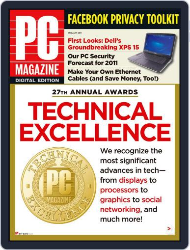 Pc (Digital) December 31st, 2010 Issue Cover