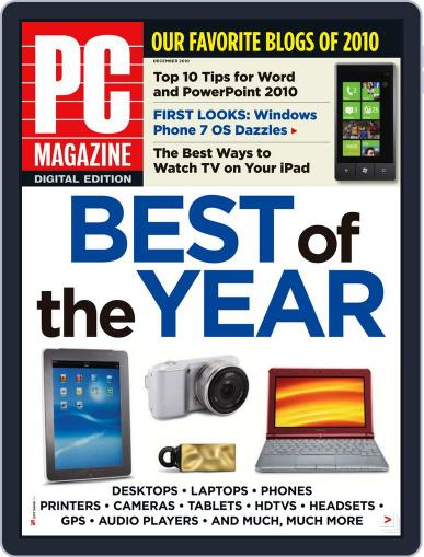 Pc (Digital) November 30th, 2010 Issue Cover