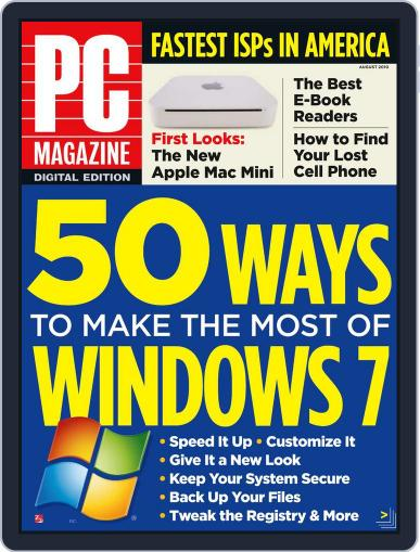 Pc July 31st, 2010 Digital Back Issue Cover