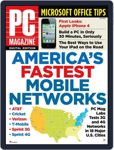 Pc June 30th, 2010 Digital Back Issue Cover