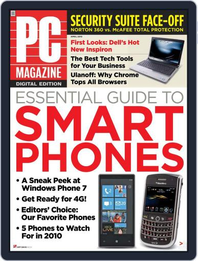 Pc (Digital) March 29th, 2010 Issue Cover