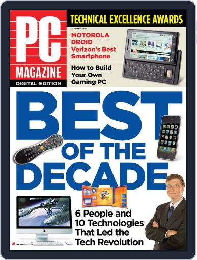 Pc December 28th, 2009 Digital Back Issue Cover