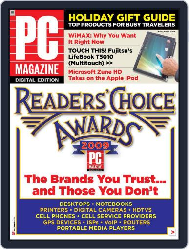 Pc October 26th, 2009 Digital Back Issue Cover