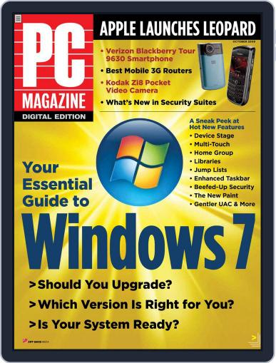 Pc (Digital) September 28th, 2009 Issue Cover