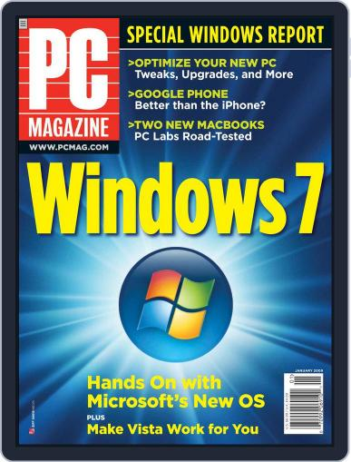 Pc (Digital) December 5th, 2008 Issue Cover
