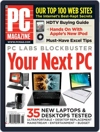 Pc (Digital) October 3rd, 2008 Issue Cover