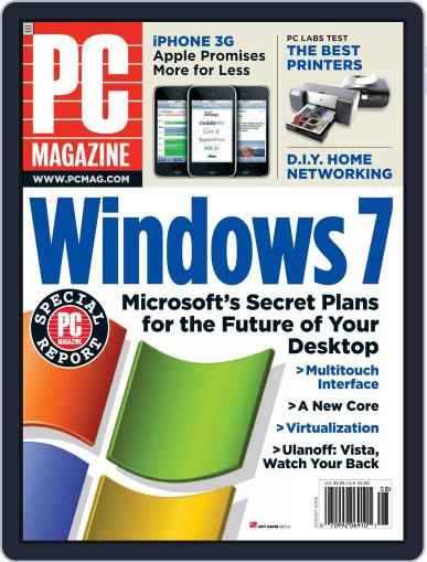 Pc July 4th, 2008 Digital Back Issue Cover
