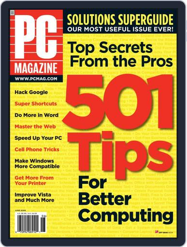 Pc (Digital) May 2nd, 2008 Issue Cover