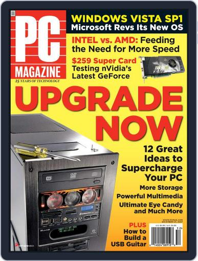 Pc (Digital) November 26th, 2007 Issue Cover