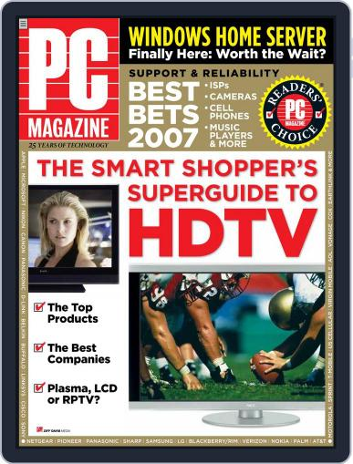 Pc (Digital) October 26th, 2007 Issue Cover
