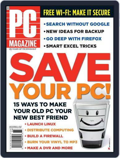 Pc (Digital) August 10th, 2007 Issue Cover