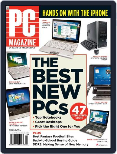 Pc (Digital) July 27th, 2007 Issue Cover