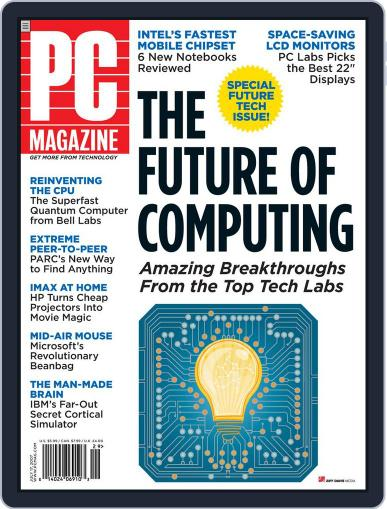 Pc June 15th, 2007 Digital Back Issue Cover