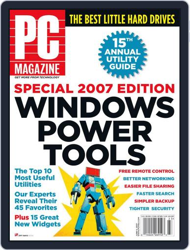 Pc (Digital) May 11th, 2007 Issue Cover