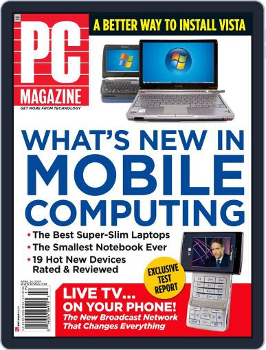 Pc (Digital) March 30th, 2007 Issue Cover