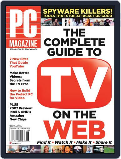 Pc (Digital) January 2nd, 2007 Issue Cover