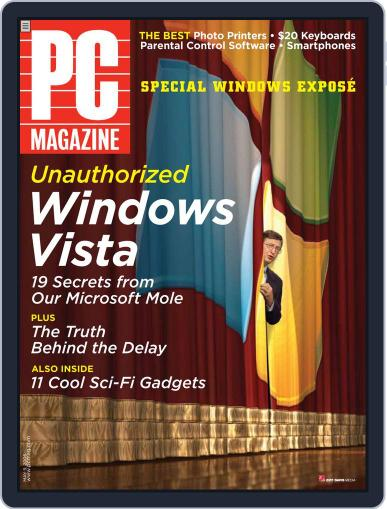Pc (Digital) April 17th, 2006 Issue Cover
