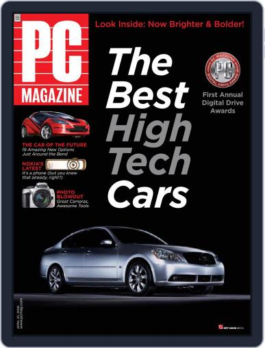 Pc (Digital) March 31st, 2006 Issue Cover