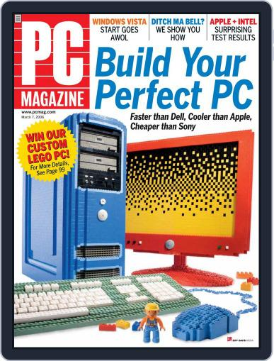 Pc (Digital) February 10th, 2006 Issue Cover