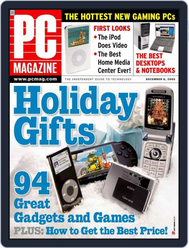 Pc (Digital) November 11th, 2005 Issue Cover