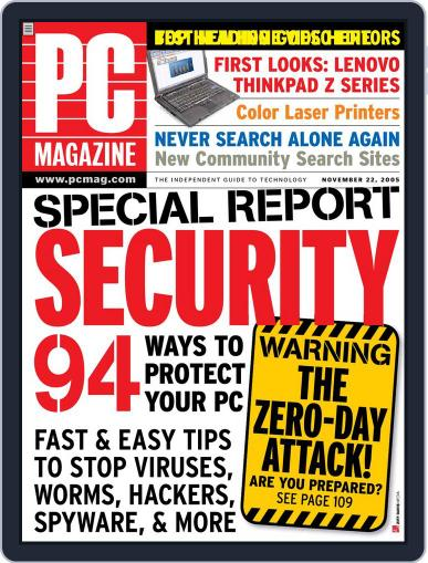 Pc (Digital) October 28th, 2005 Issue Cover