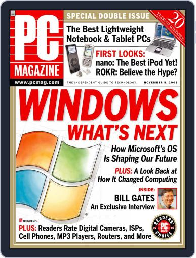 Pc (Digital) October 11th, 2005 Issue Cover