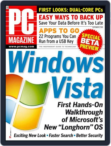 Pc (Digital) August 12th, 2005 Issue Cover