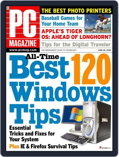 Pc (Digital) June 1st, 2005 Issue Cover