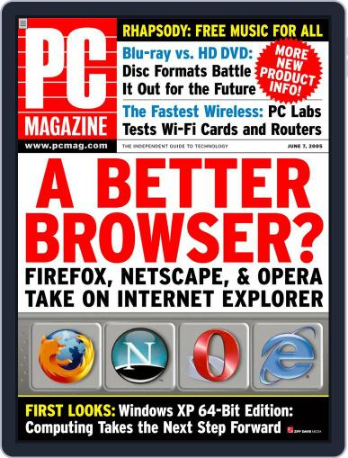 Pc (Digital) May 16th, 2005 Issue Cover
