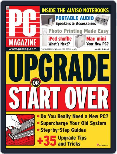 Pc (Digital) February 11th, 2005 Issue Cover