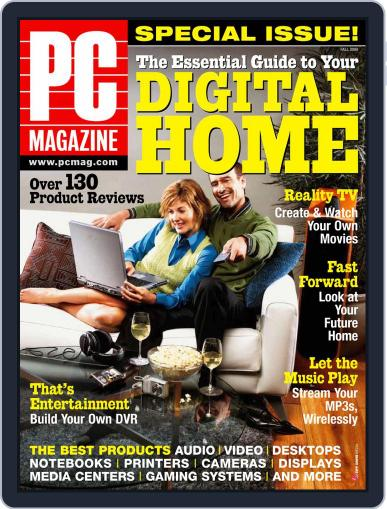 Pc October 8th, 2004 Digital Back Issue Cover
