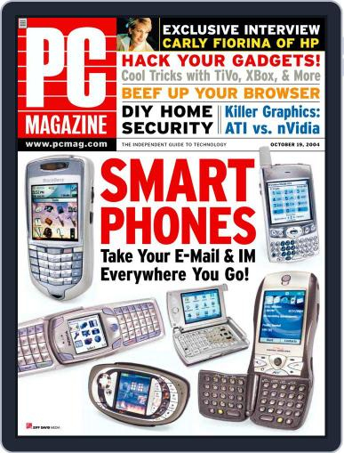 Pc (Digital) September 24th, 2004 Issue Cover