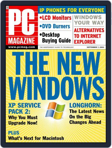 Pc (Digital) August 6th, 2004 Issue Cover