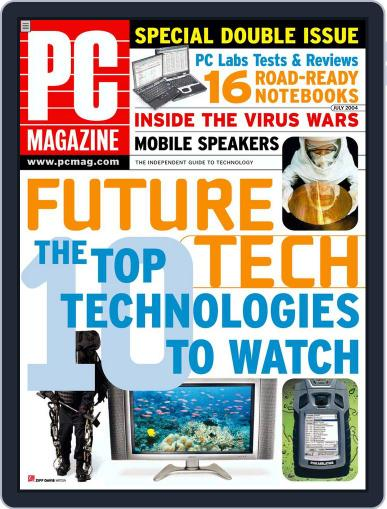 Pc (Digital) June 11th, 2004 Issue Cover