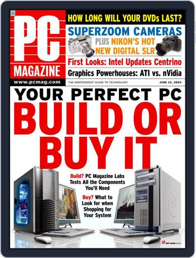 Pc (Digital) May 28th, 2004 Issue Cover