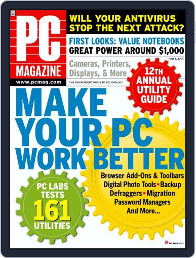 Pc May 7th, 2004 Digital Back Issue Cover
