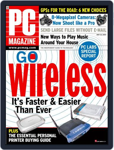Pc April 23rd, 2004 Digital Back Issue Cover
